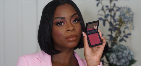 Mented Mentor @anti_gorgeous tries our Berried Away Blush
