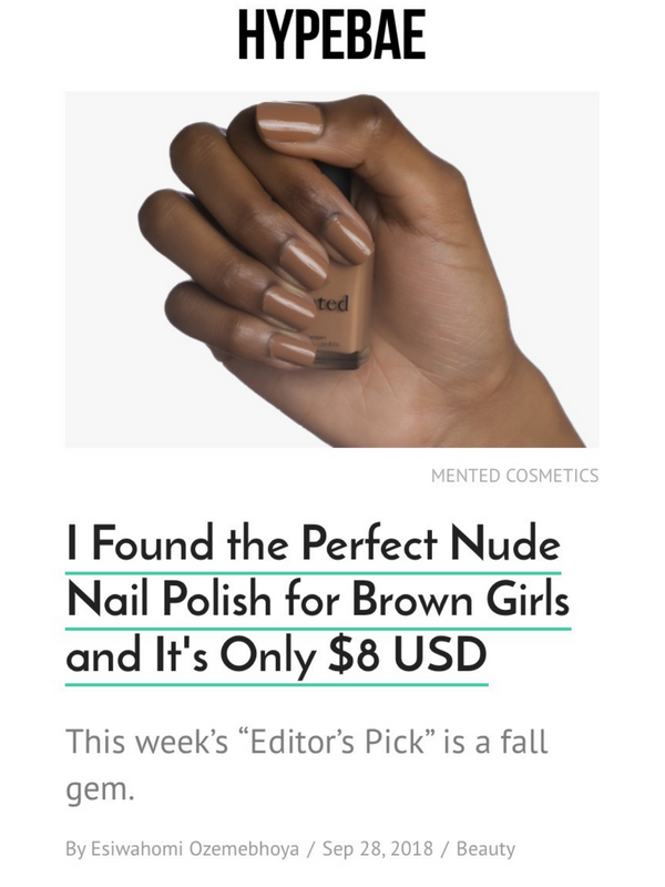I Found the Perfect Nude Nail Polish for Brown Girls and It's Only $8 USD
