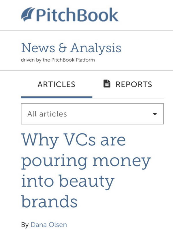 Why VCs are pouring money into beauty brands
