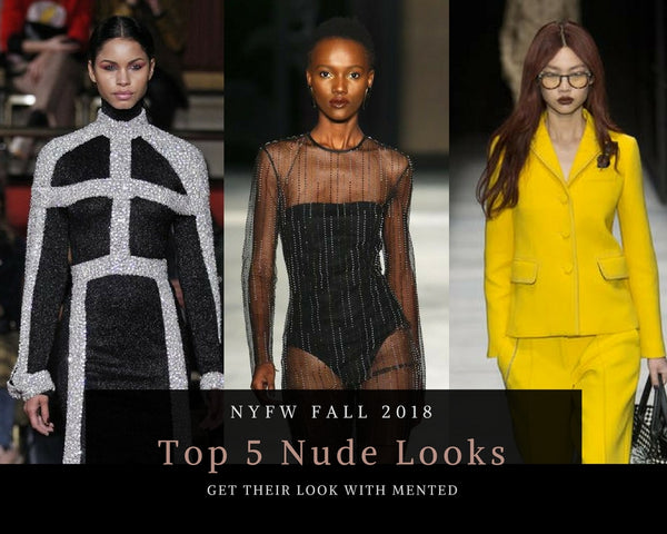 Top 5 Nude Looks: NYFW Fall 2018