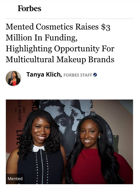Mented Cosmetics Raises $3 Million In Funding, Highlighting Opportunity For Multicultural Makeup Brands