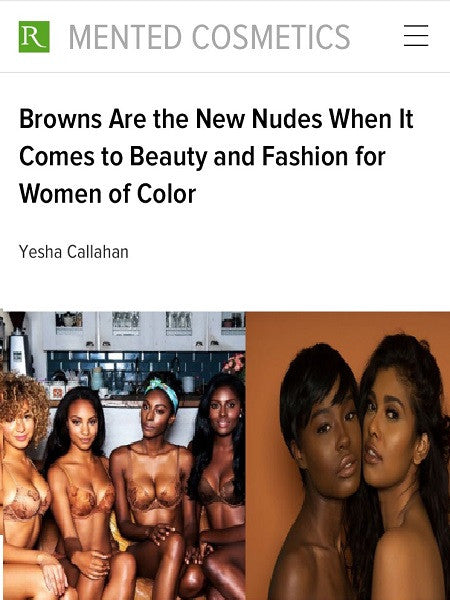 Browns Are the New Nudes When It Comes to Beauty and Fashion for Women of Color