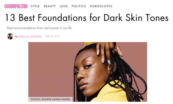 13 Best Foundations for Dark Skin Tones