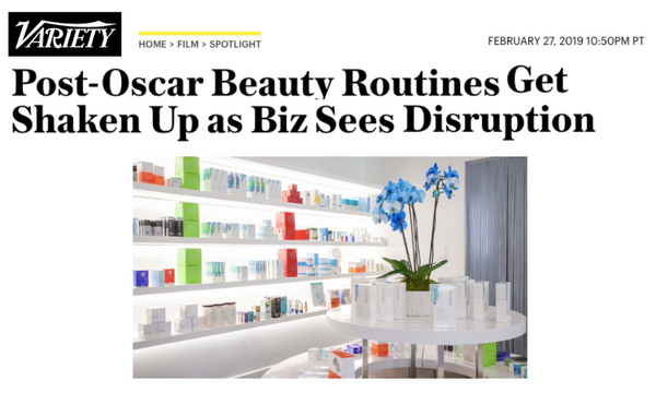 Post-Oscar Beauty Routines Get Shaken Up as Biz Sees Disruption