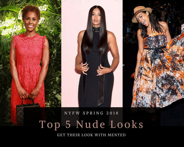 Top 5 Nude Looks: NYFW Spring 2018