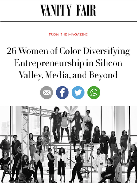 26 WOMEN OF COLOR DIVERSIFYING ENTREPRENEURSHIP IN SILICON VALLEY, MEDIA, AND BEYOND