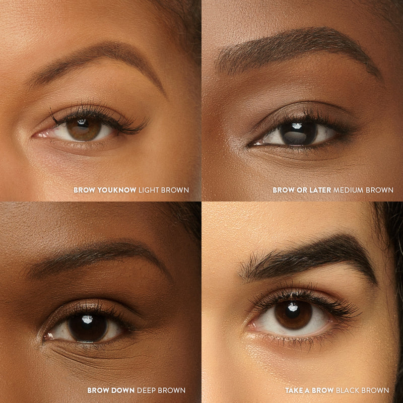 Brow Down - deep brown