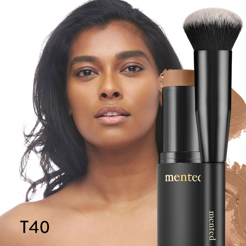 T40 - Deep tan with warm undertones