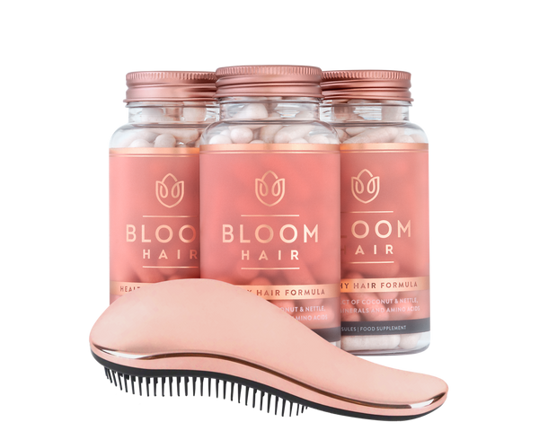 Bloom Hair Vitamins 3‑month supply