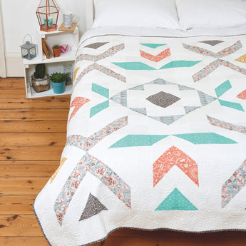 Pebble + Spark Quilt PDF Pattern