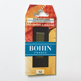 Bohin Appliqué Needles Size 12