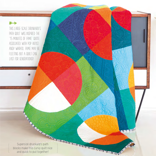 15 Minutes of Fame Quilt PDF Pattern