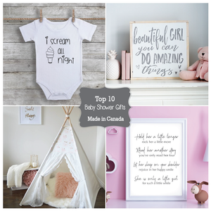 Top 10 Baby Shower Gifts Handcrafted in Canada