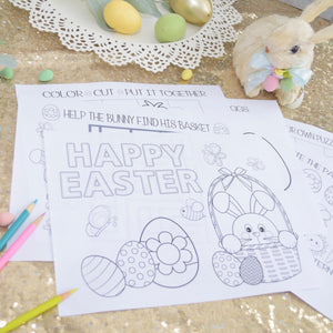 Easter Coloring Pages, Easter Activity Pages
