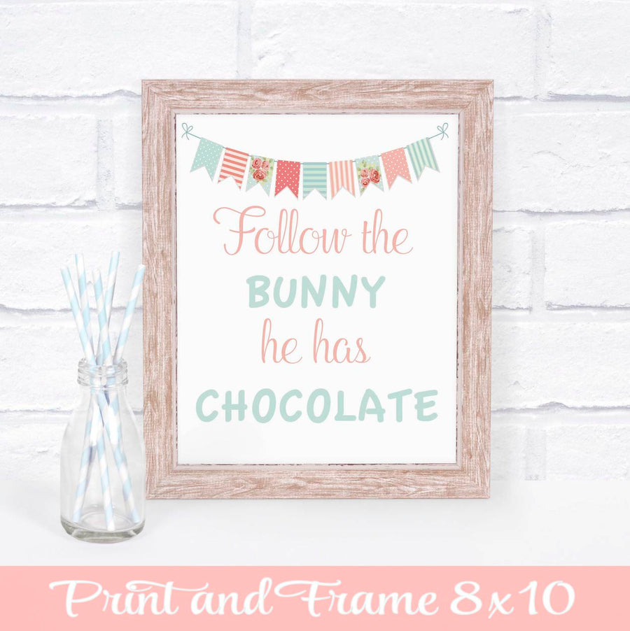 Easter Sign for Mantle or Birthday Party