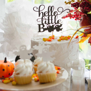halloween baby shower decorations