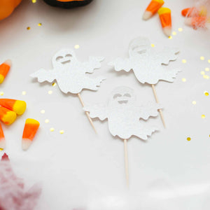 little boo baby shower cupcake toppers