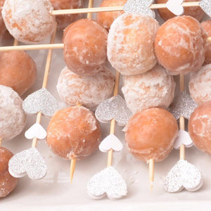 donuts on mini donut skewers