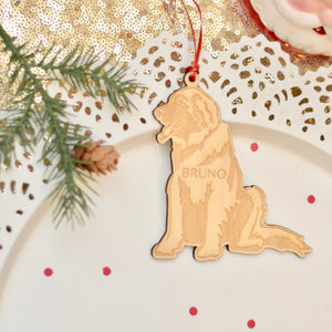 Leonberger Christmas Ornament