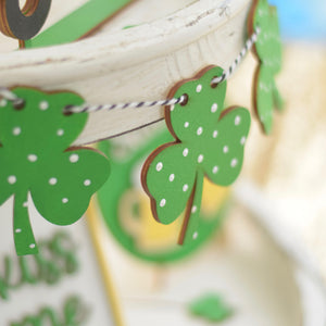 DIY KIT - St Patricks Day Decorations for Tiered Tray and Decorative Shelves