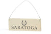 TOGA HERITAGE SARATOGA Wood Sign