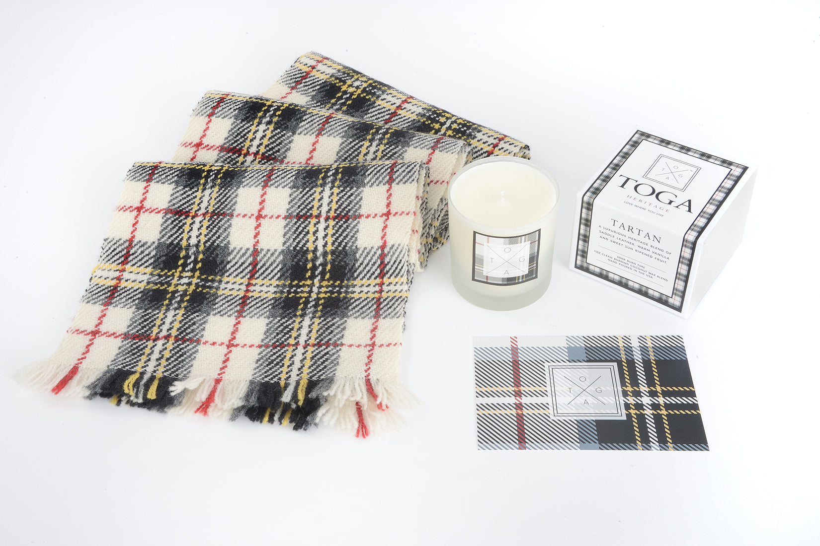 "Tartan ""Wee Cuddle"" Care Package"