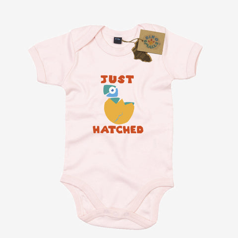 Dino Smalls Just Hatched Babygrow Bodysuit