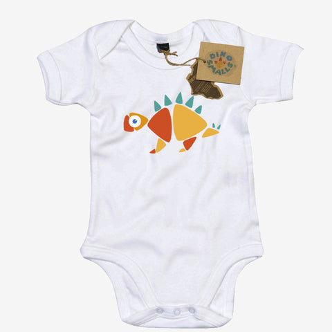 Dino Smalls Meg the Stegosaurus Babygrow Bodysuit