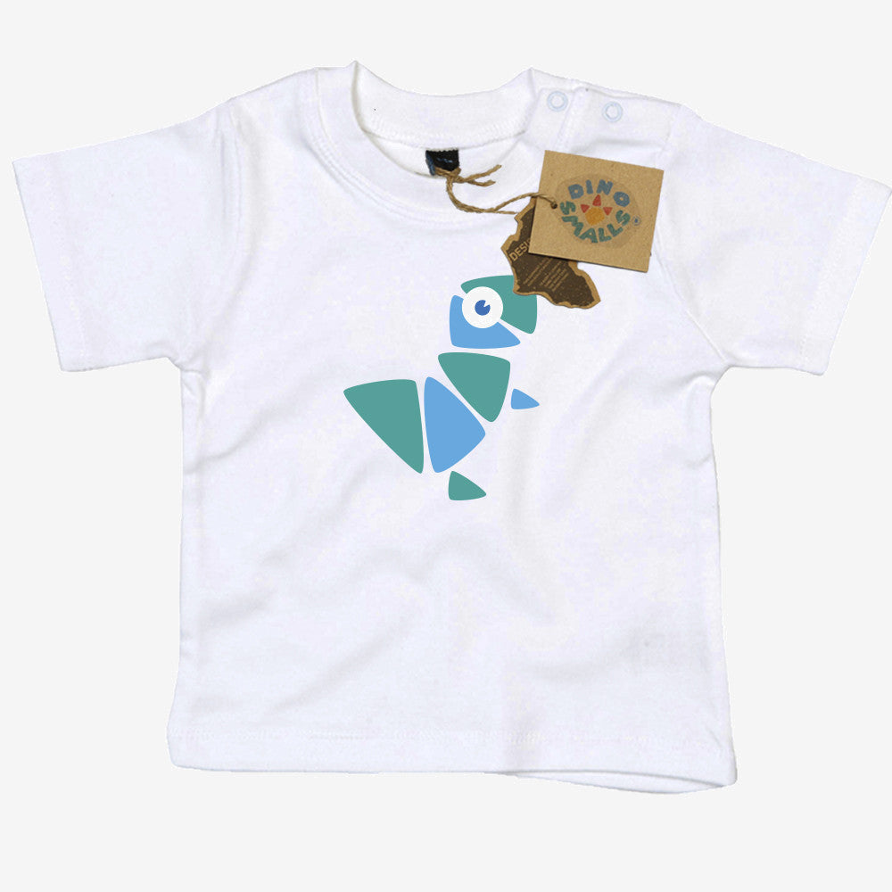 Dino Smalls Chester T Baby Toddler T Shirt