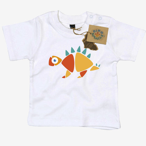 Dino Smalls Meg the Stegosaurus Baby Toddler T Shirt