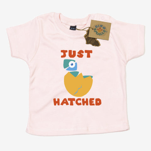 Dino Smalls Just Hatched Baby Toddler T Shirt