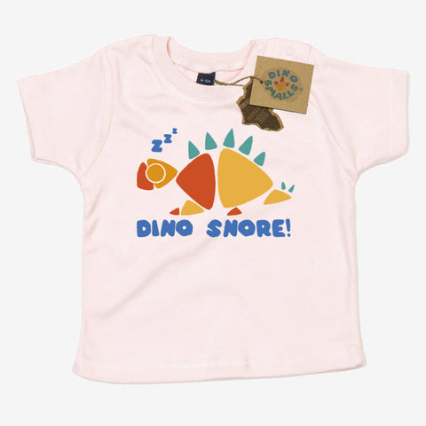Dino Smalls Dino Snore Baby Toddler T Shirt