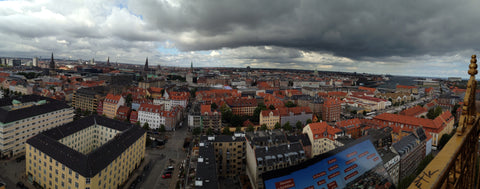 View of Copenhagen from Church of Our Savior