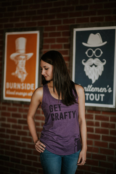 Ladies Tank Top (Get Crafty)