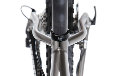 Detail image of seat post clamp