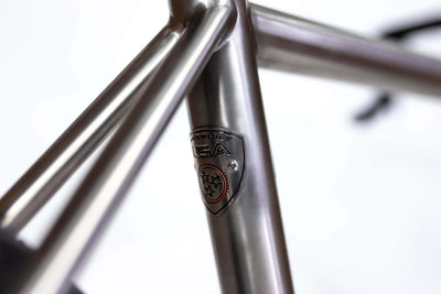 Detail image of rear seattube badge