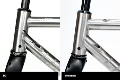 Comparison of Watia Di2 and Mechanical routing