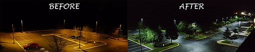 philips led parking lot lighting