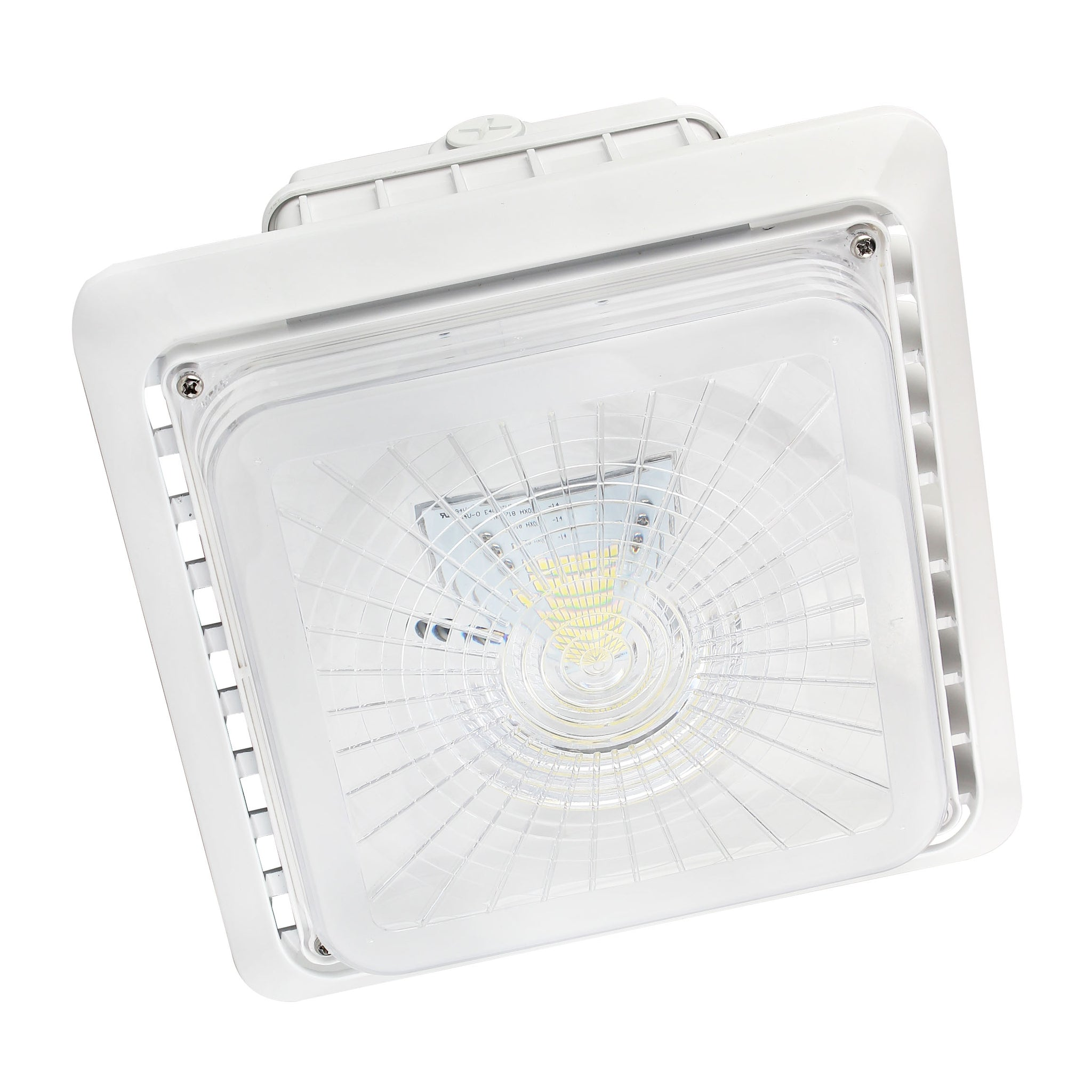 LED Parking Garage Light 55W - LED Canopy Light - DLC UL