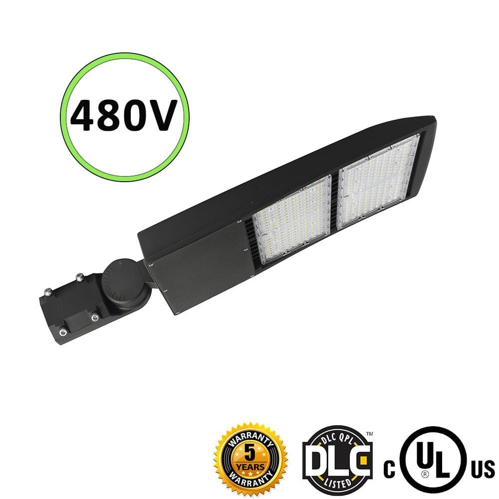 LED Shoebox Light Gen3 300W 480V 39000LM- DM/DM/YM - DLC UL