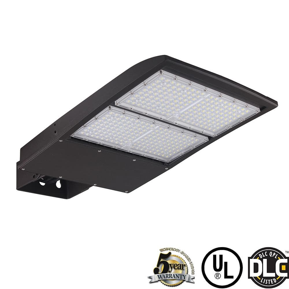 LED Shoebox Gen3 Light 200W 26000LM-Adjustable Yoke Mount