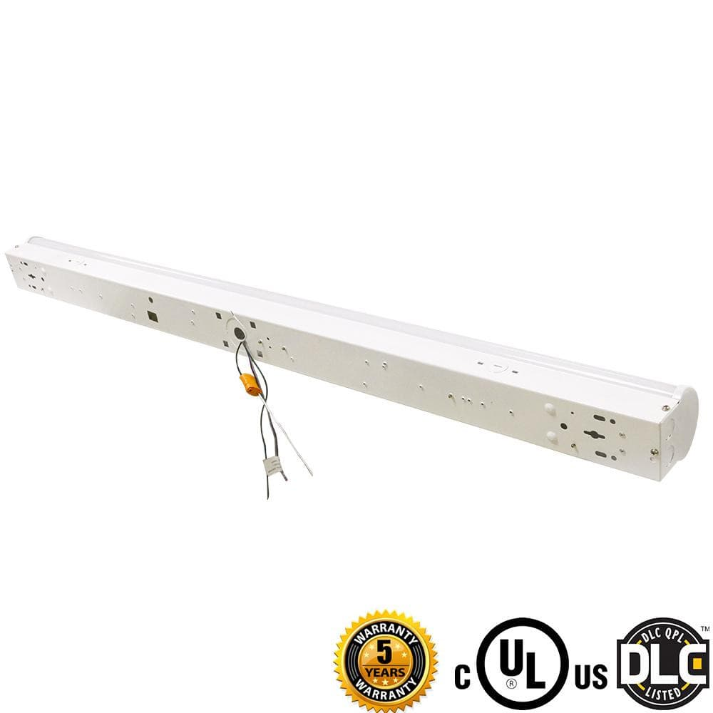 LED Strip Light 8ft strip light  68W- LED Linear Strip Light-7400LM- DLC UL Certified 5 Years Waranty-4PCS/Pack
