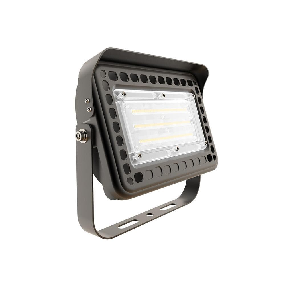 Yoke Mount LED Flood Light- 6500LM - 5000K -50W