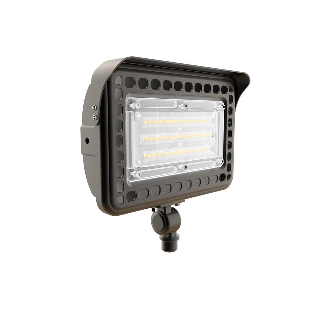 LED Flood Light Knuckle Mount - 6500LM - 5000K -50W