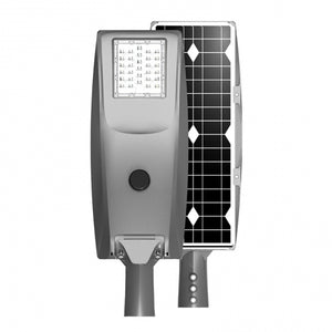 50 Watt Solar LED Street Light - All in One smart LED Street light