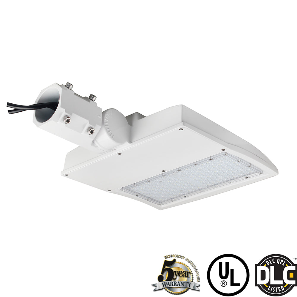 White LED Shoebox Gen3 Light 150W 300W -DLC UL