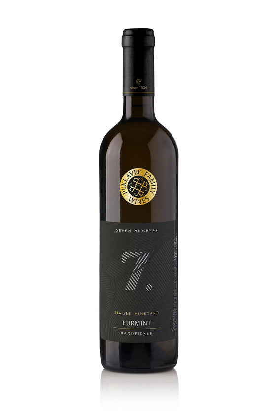 'Seven Numbers' '7' Furmint 2016 -  Platinum DECANTER Award 2017!