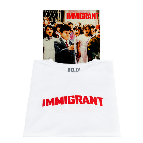 Immigrant Charity T-Shirt + Digital Album