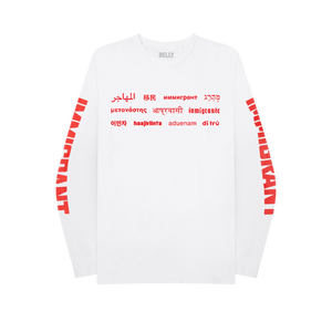 Immigrant International Longsleeve + Digital Album
