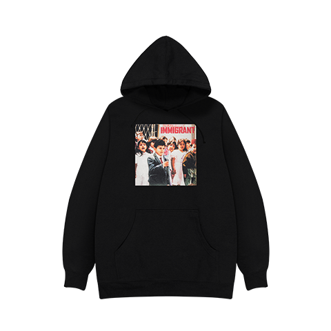 Belly Immigrant Cover Black Hoodie